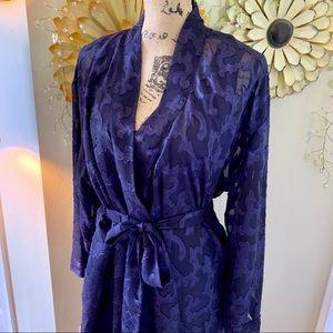 Victoria's Secret 90's Purple nightgown & Robe